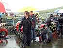 Knockhill pitlane (wet)